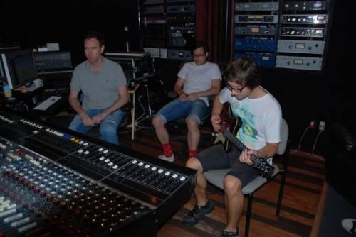 Simple Plan в студии